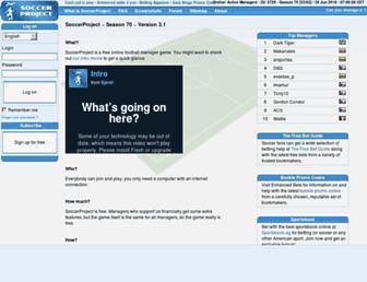 Thumbshot of Soccerproject.com