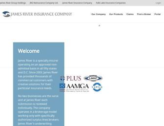 jamesriverins.com screenshot
