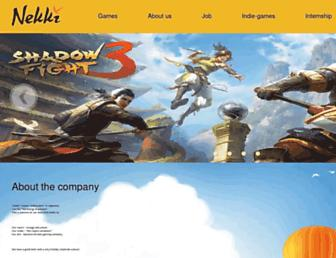 nekki.com screenshot