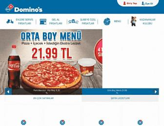 Thumbshot of Dominos.com.tr