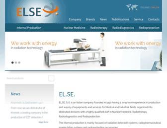 Main page screenshot of nuclearmedicine.it