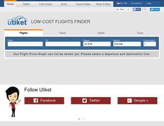 utiket.com screenshot