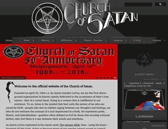 Thumbshot of Churchofsatan.com