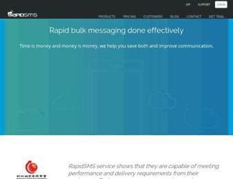 rapidsms.net screenshot