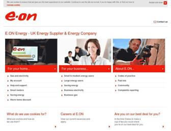 Thumbshot of Eonenergy.com