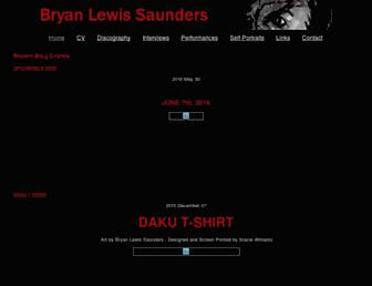 Thumbshot of Bryanlewissaunders.org
