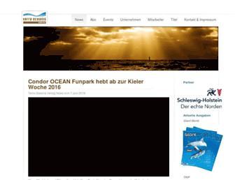 Main page screenshot of free-magazin.de