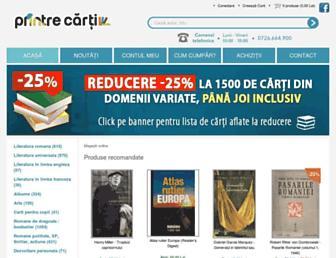 printrecarti.ro screenshot