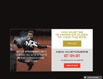 Thumbshot of Myfreedomsmokes.com