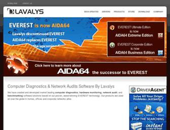 lavalys.com screenshot