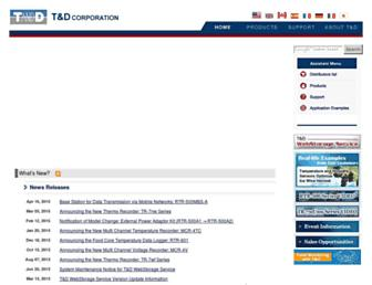 tandd.com screenshot