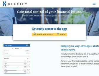 keepify.com screenshot