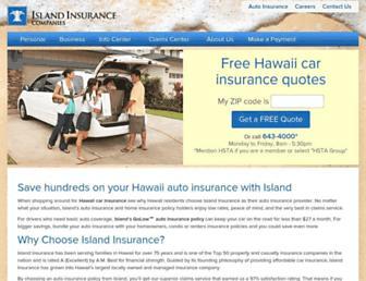 islandinsurance.com screenshot