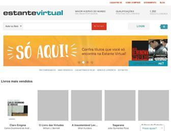 estantevirtual.com.br screenshot