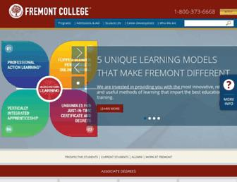 fremont.edu screenshot
