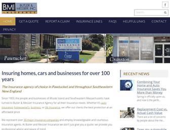 butlerandmessier.com screenshot