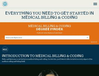 medicalbillingandcoding.org screenshot