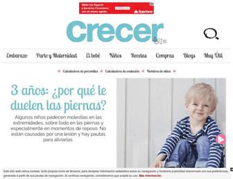 crecerfeliz.es screenshot