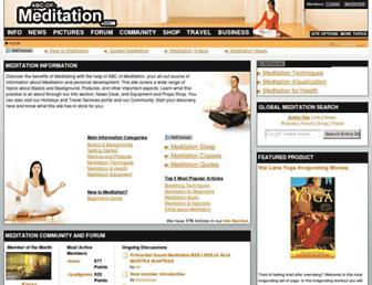 abc-of-meditation.com screenshot