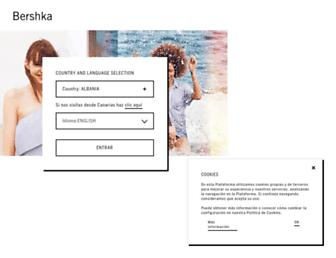 bershka.com screenshot