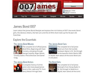 Thumbshot of 007james.com