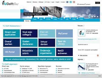 intranet.tudelft.nl screenshot