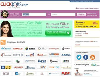 Thumbshot of Clickjobs.com