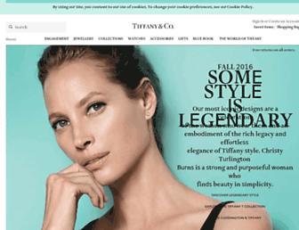 nl.tiffany.com screenshot
