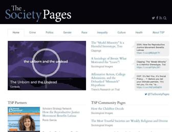 thesocietypages.org screenshot