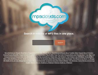 mp3clouds.com screenshot