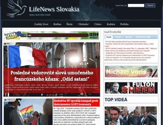 Thumbshot of Lifenews.sk
