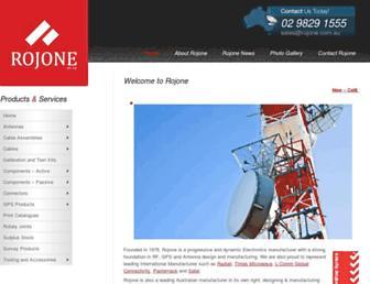rojone.com.au screenshot