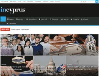 in-cyprus.com screenshot