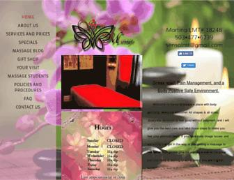 sensomassage.com screenshot
