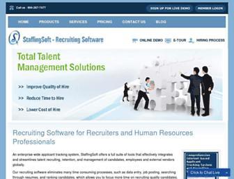 Thumbshot of Staffingsoft.com
