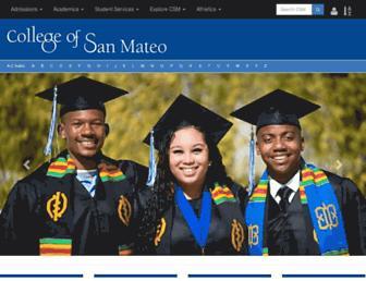 Thumbshot of Collegeofsanmateo.edu