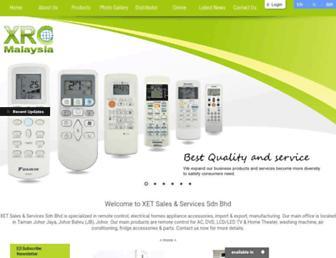 xetremotecontrol.com screenshot