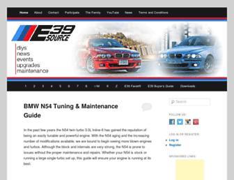e39source.com screenshot