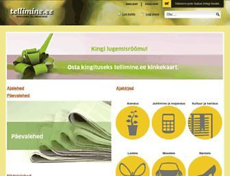 tellimine.ee screenshot