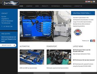 dynostar.com screenshot
