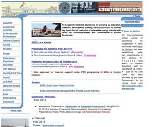 ahec.org.in screenshot