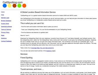 cellspotting.com screenshot