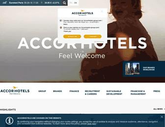 Thumbshot of Accor.com