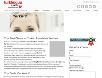 turklingua.com screenshot