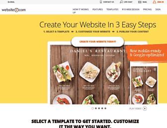 website.com screenshot
