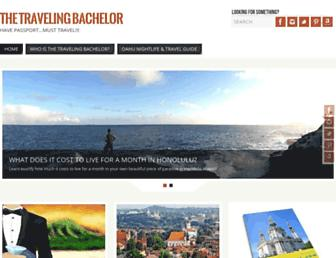 thetravelingbachelor.org screenshot
