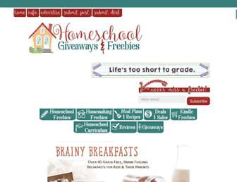 Thumbshot of Homeschoolgiveaways.com