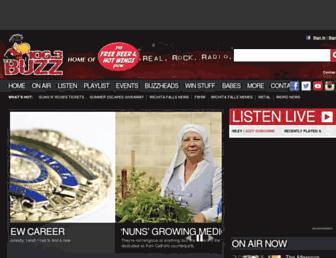 1063thebuzz.com screenshot