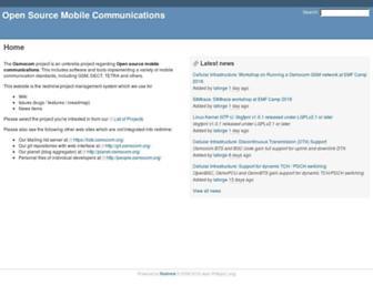 osmocom.org screenshot