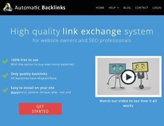 Thumbshot of Automaticbacklinks.com